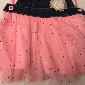 Little Lass Bottoms - 2 Piece Overall Outfit